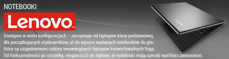 Notebooki Lenovo