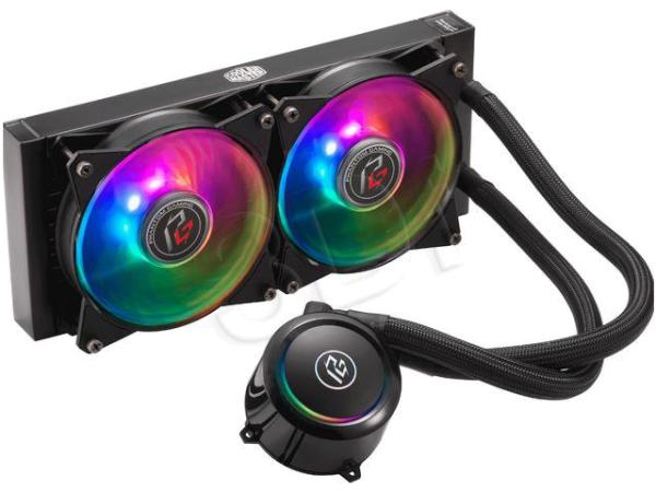 COOLER MASTER CHŁODZENIE WODNE CPU MASTERLIQUID ML240R RGB PHANTOM GAMING EDITION (MLX-D24M-A20PC-RP)