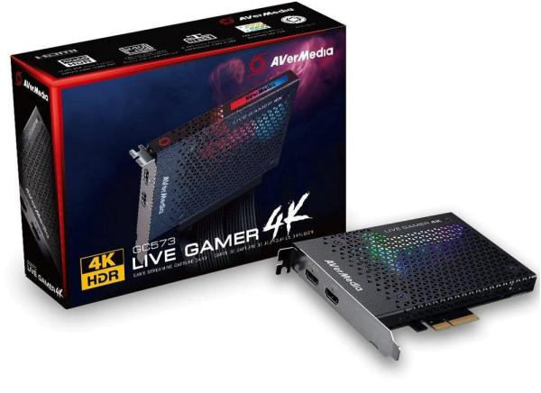 REJESTRATOR AVERMEDIA LIVE GAMER 4K 61GC5730A0AS
