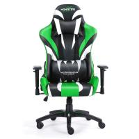 FOTEL GAMINGOWY WARRIOR CHAIRS MONSTER 5903293761083 (KOLOR ZIELONY)