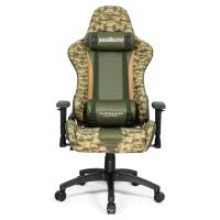 Fotel gamingowy WARRIOR CHAIRS FIELDS OF BATTLE DESERT CAMOUFLAGE 5903293761137 (WIELOKOLOROWY)