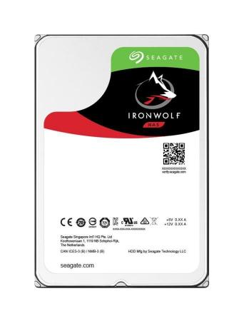 Dysk SEAGATE ST6000VN0033 IRONWOLF 6TB 5900 64MB SATA III NAS