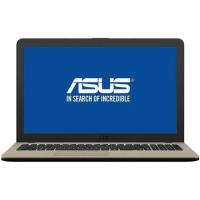 "Notebook LAPTOP ASUS X540MA-GO360 INTEL CELERON N4000 2.60 GHZ 15.6"" 4GB SSD 256 DVD-RW INTEL UHD GRAPHICS 600 (bez systemu oper.) CHOCOLATE BLACK"