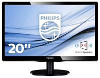 "MONITOR PHILIPS 200V4LAB2/00 (WLED 19,5"" HD+ TFT CZARNY)"