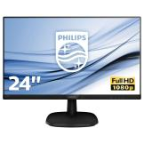 "MONITOR PHILIPS 23,8"" 243V7QJABF/00 HDMI VGA"