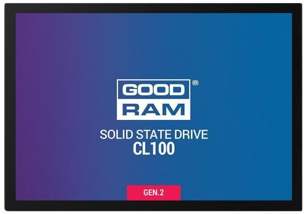 "DYSK SSD GOODRAM CL100 480GB SATA III 2,5"" GEN.2 (550/450) 7MM (SSDPR-CL100-480-G2)"