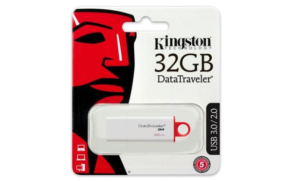 Pendrive KINGSTON DATATRAVELER G4 32GB USB 3.0 (DTIG4/32GB)
