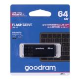 GOODRAM FLASHDRIVE 64GB UME3 USB 3.0 BLACK (UME3-0640K0R11)