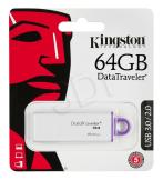 Pendrive KINGSTON DTIG4/64GB (64GB; USB 3.0; KOLOR BIAŁY)
