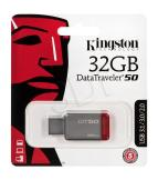 KINGSTON FLASHDRIVE DATATRAVELER 50 32GB USB 3.0 SREBRNY (DT50/32GB)