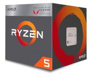 PROCESOR AMD RYZEN 5 2400G S-AM4 3.60/3.90GHZ BOX (YD2400C5FBBOX)