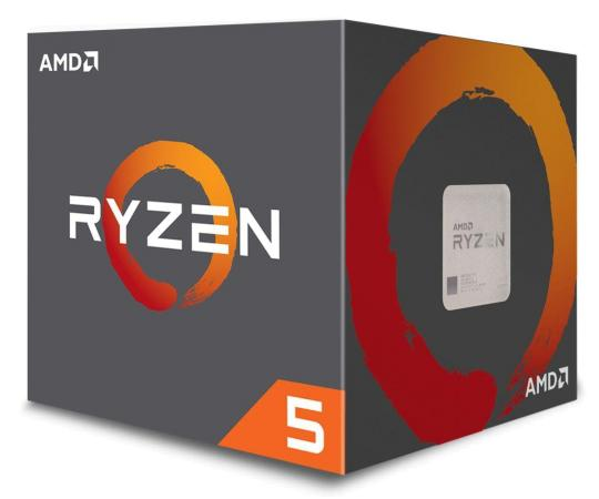 PROCESOR AMD RYZEN 5 2600 S-AM4 3.40/3.90GHZ BOX (YD2600BBAFBOX)