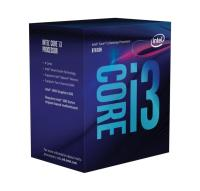 Intel PROCESOR CORE I3 8100 COFFEE LAKE 3600MHZ 6MB (4 RDZENIE) 1151 V2 BOX (BX80684I38100)