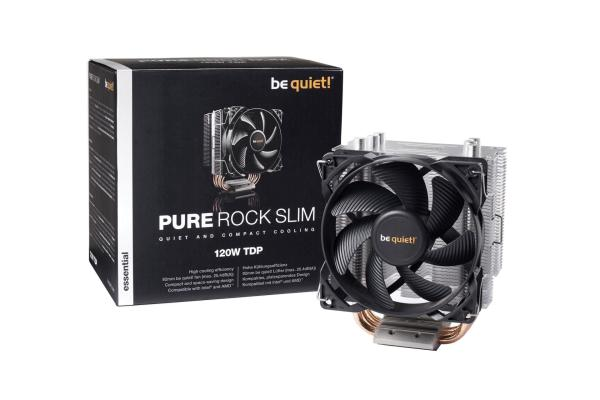WENTYLATOR BE QUIET! PURE ROCK SLIM 92MM (BK008) 1155/1150/1151/AM3/FM2